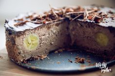ZDRAVÝ Tvarohovo-čokoládový cheesecake | We Lift Together