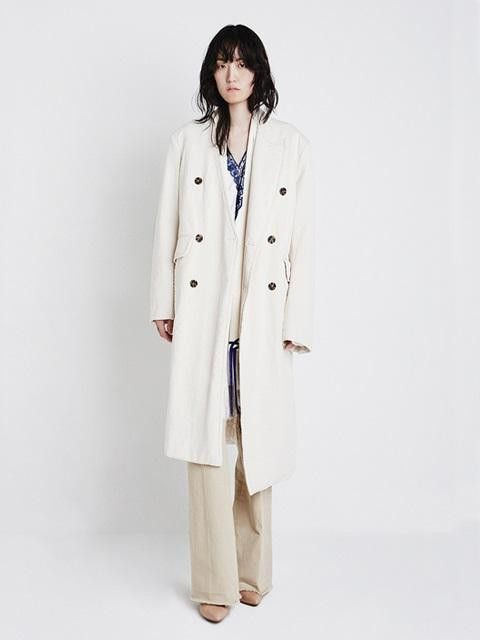 Chester Field Coat Ivory