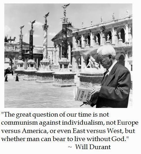 Will Durant on  #faith and western civilization #quotes