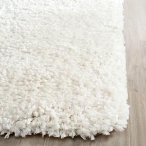 Safavieh Popcorn Shag Ivory 8 ft. x 10 ft. Area Rug SG267A-8 at The Home Depot - Mobile