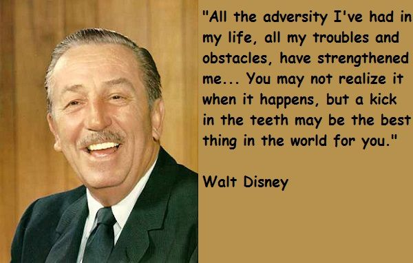 walt disney, quotes, sayings, obstacles, goals, motivational