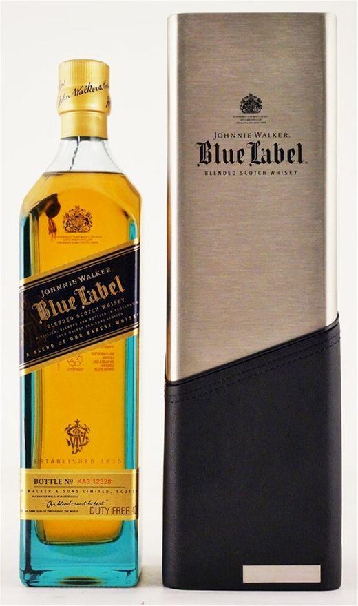 Johnnie Walker `Blue Label Porsche Chiller Edition` (1x700ml), Scotland