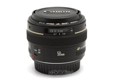 Canon EF 50mm f/1.4 USM Lens--DigitalRev
