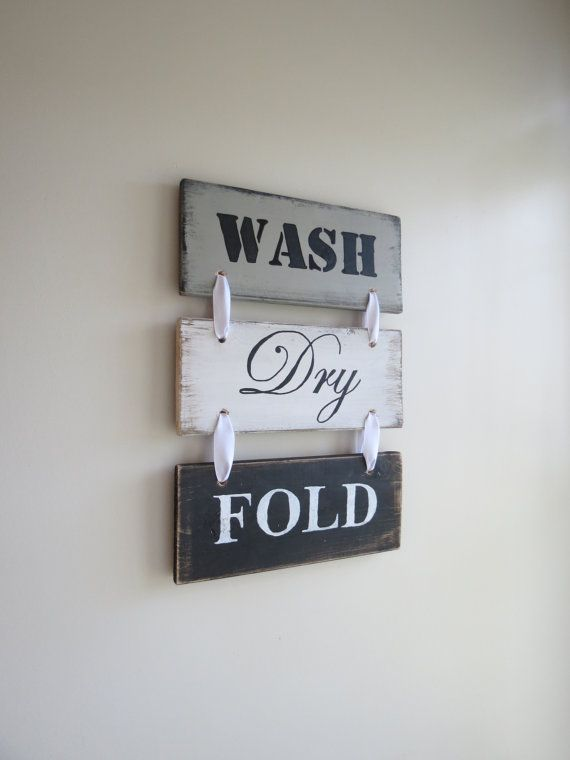 Rustic Wood Sign Laundry Room Sign Wood Laundry Sign Rustic Laundry Sign Black White Grey Laundry Room Signs Wood Laundry Sign Laundry Signs