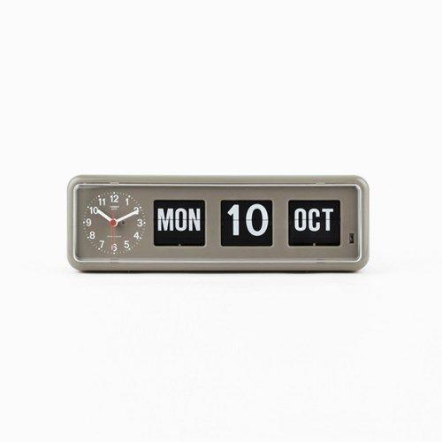 [트웸코] 캘린더 탁상시계 BQ-38 (grey) // 155,000 // 남자 // 30대 초-중반 // 고급, 탁상시계, 클래식 // 비싸지만 비싼값을 하는 시계