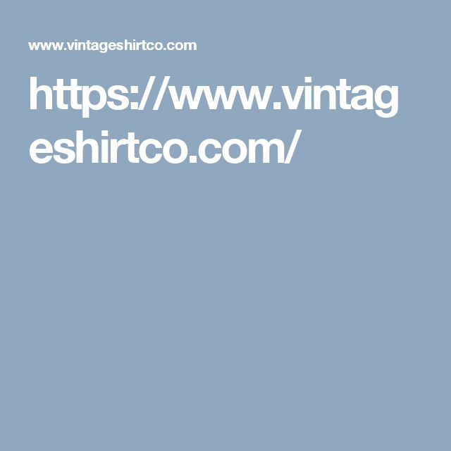 https://www.vintageshirtco.com/