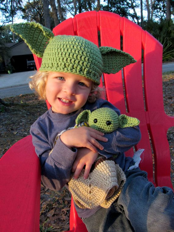 Items similar to Perfect Yoda Lovey for your Star Wars fan baby, kid, adult! Perfect for the new Star Wars Disney Movie! Yoda Security Blanket! on Etsy