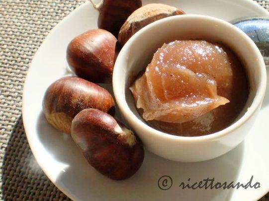 Confettura di marroni marmellata castagne