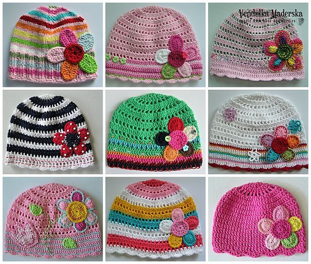 15 best gorrito nena tejido images on Pinterest | Patrones de ...