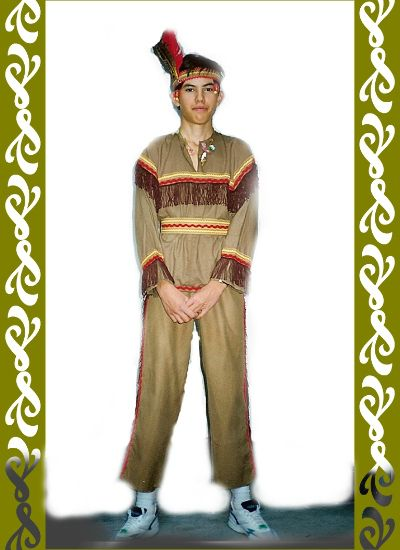 kostým indián, Ladana