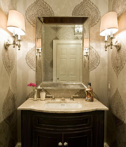 Powder Room Vanities Asian Appealing Powder Room Design