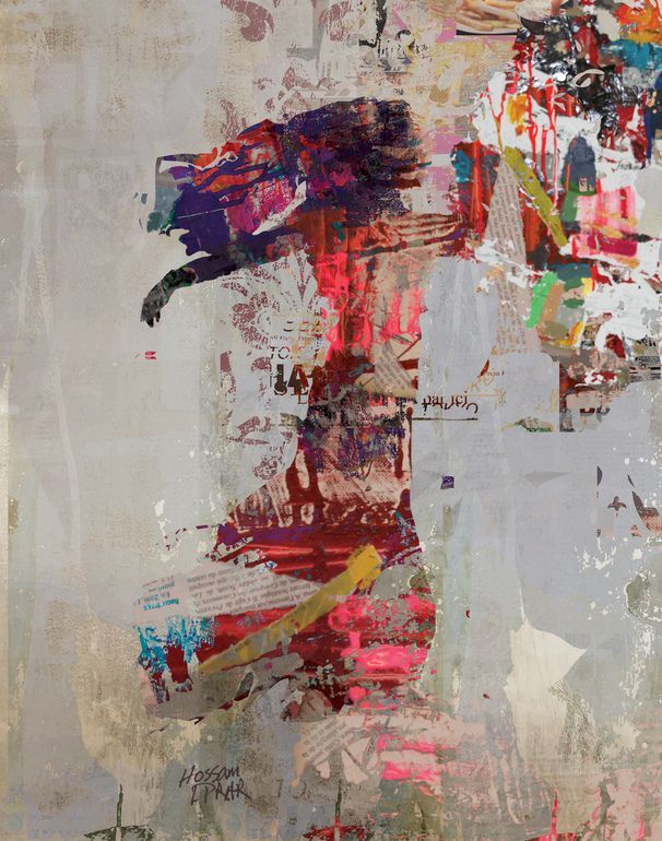 "Saatchi Online Artist: Hossam Dirar; Paint 2013 Painting ""Looking For (SOLD ON Saatchi Online)"""