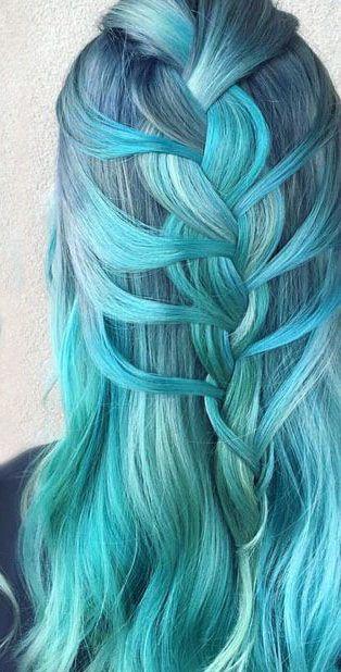 Blue Hair Twist