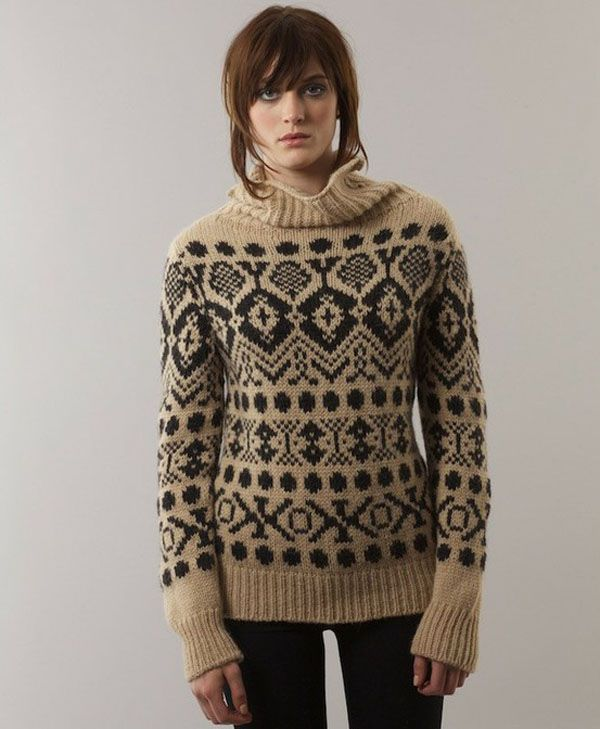 Knitting Patterns For Nordic Sweater : 534 best Fair Isle Knitwear images on Pinterest Knitting ...
