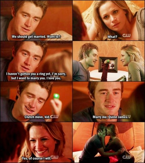 Real Love: Clay + Quinn = Clinn, One Tree Hill