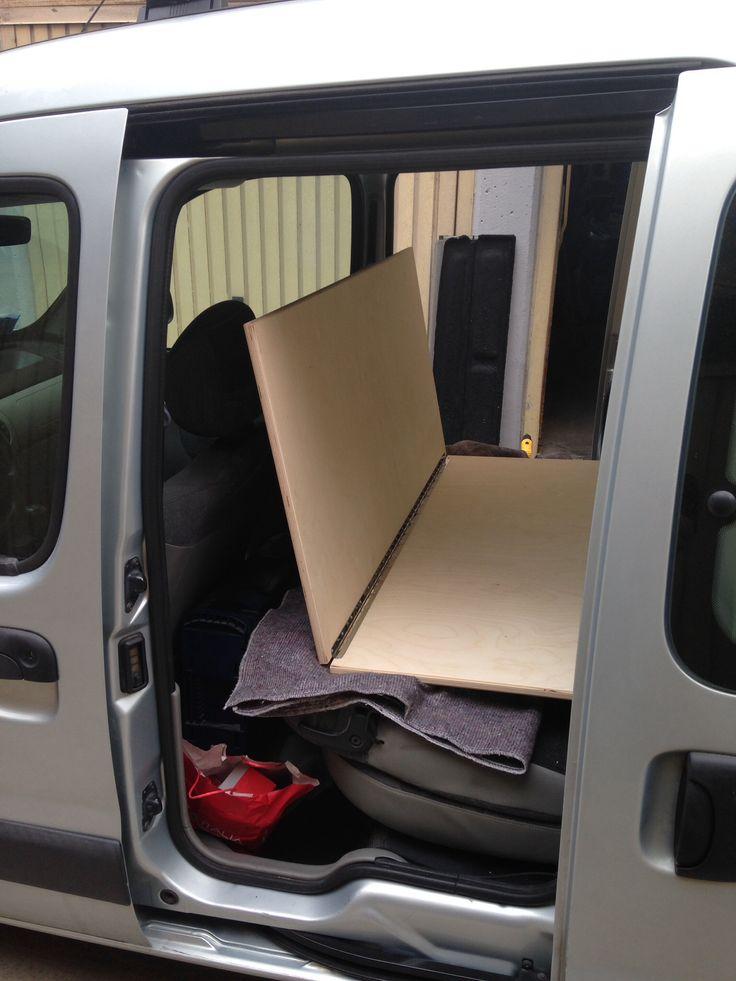 77 best images about kangoo camper on pinterest insulating windows campers and renault 4. Black Bedroom Furniture Sets. Home Design Ideas