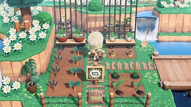 Community Herb Garden - AnimalCrossing in 2020   Animal ...