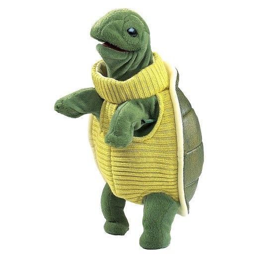 Folkmanis Turtleneck Turtle Hand Puppet : Target