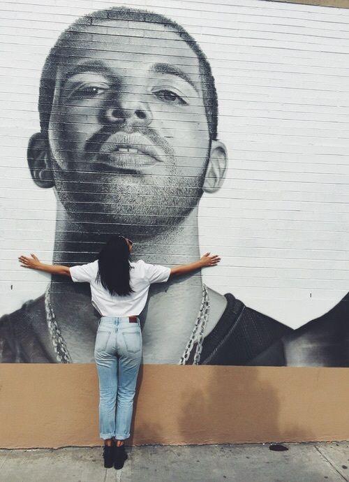 Drake, art, and tumblr image