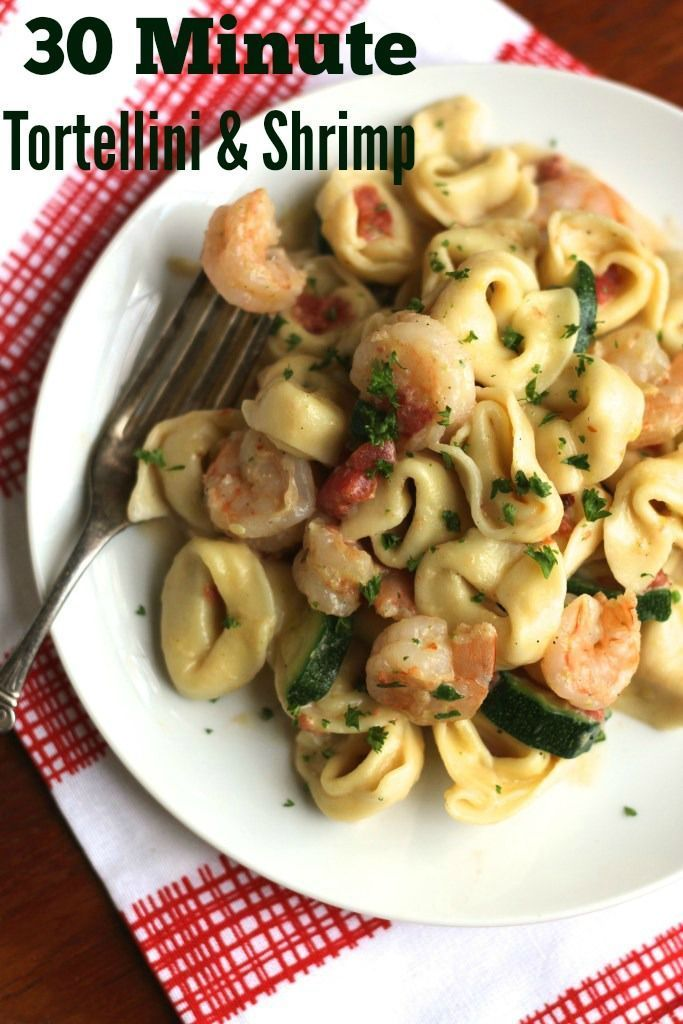 This quick pasta dish is ready in half an hour! So fresh and so simple! {Brittany's Pantry}