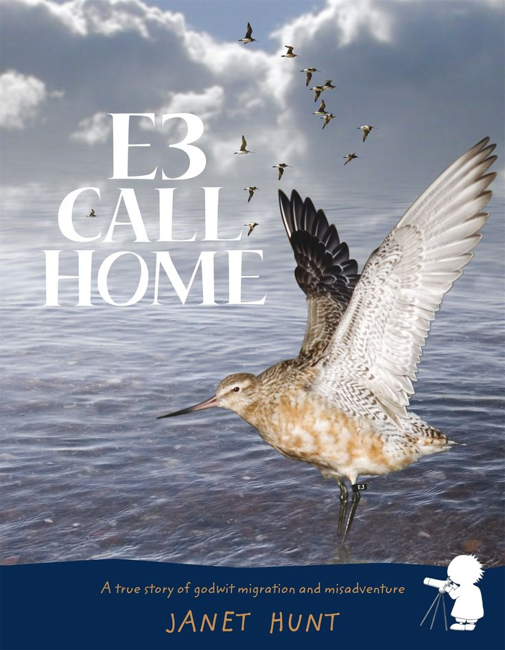 'E3 Call Home' by Janet Hunt Works well with our resources on flight - including NZ research into Godwits: https://www.sciencelearn.org.nz/resources/295-investigating-flight-introduction  ISBN: 9781869792763 Published: 04/09/2009 Imprint: RHNZ Children's Extent: 40 pages - See more at: http://www.randomhouse.co.nz/books/janet-hunt/e3-call-home-9781869792763.aspx#sthash.d35s0ev0.dpuf
