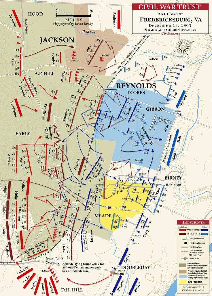 a history of the fredricksburg battle The battle of fredricksburg was fought on december 13th, 1862.