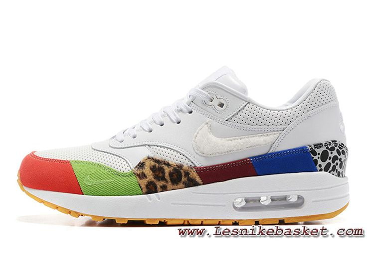 new styles 2dca9 1fa4c ... Nike Air Max 1 BlancColor Chaussures Nike Release 2017 Pour Homme  Blance-1706203169 ...