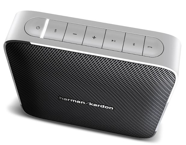 Harman Kardon's Esquire Bluetooth speaker doubles as a conference system, fits…