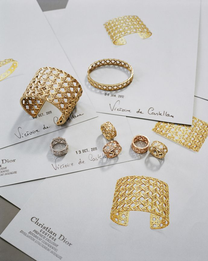 My Dior Jewelry Collection by Victoire de Castellane @Dior #luxury