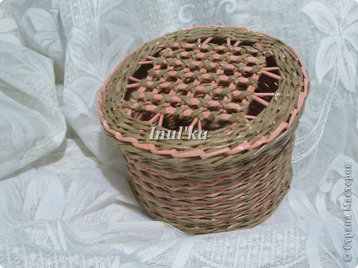 Поделка изделие Плетение Приглашаю Вас на чай или от 0 до года часть 2 Трубочки бумажные фото 5