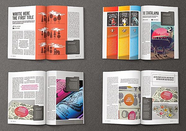 Spreading the maglove free indesign magazine templates for Magazine layout templates free download
