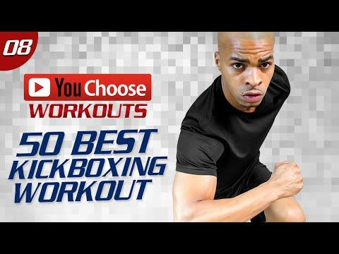 60 Min. 50 Best Kickboxing Exercises Workout | You Choose: Day 08 - YouTube