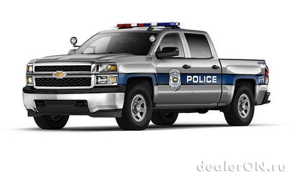 Полицейский пикап Chevrolet Silverado 1500 Crew Cab (Шевроле Сильверадо 1500)
