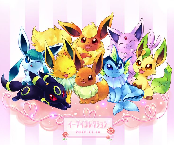 Eeveelutions Pokemon Awesomeness Pinterest Locos Hola Y Nuevas