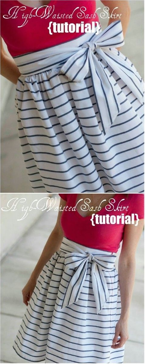 15 Summer Ready DIY Skirts With Free Patterns and Instructions