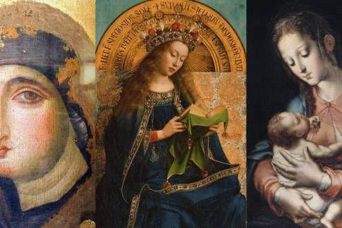 16 lindas imágenes de María en elarte
