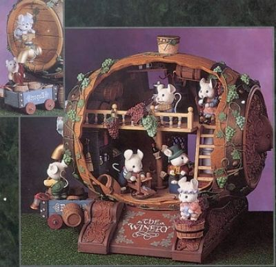 Grape Expectations - some great musical boxes with whimsical themes, but great ideas for minis
