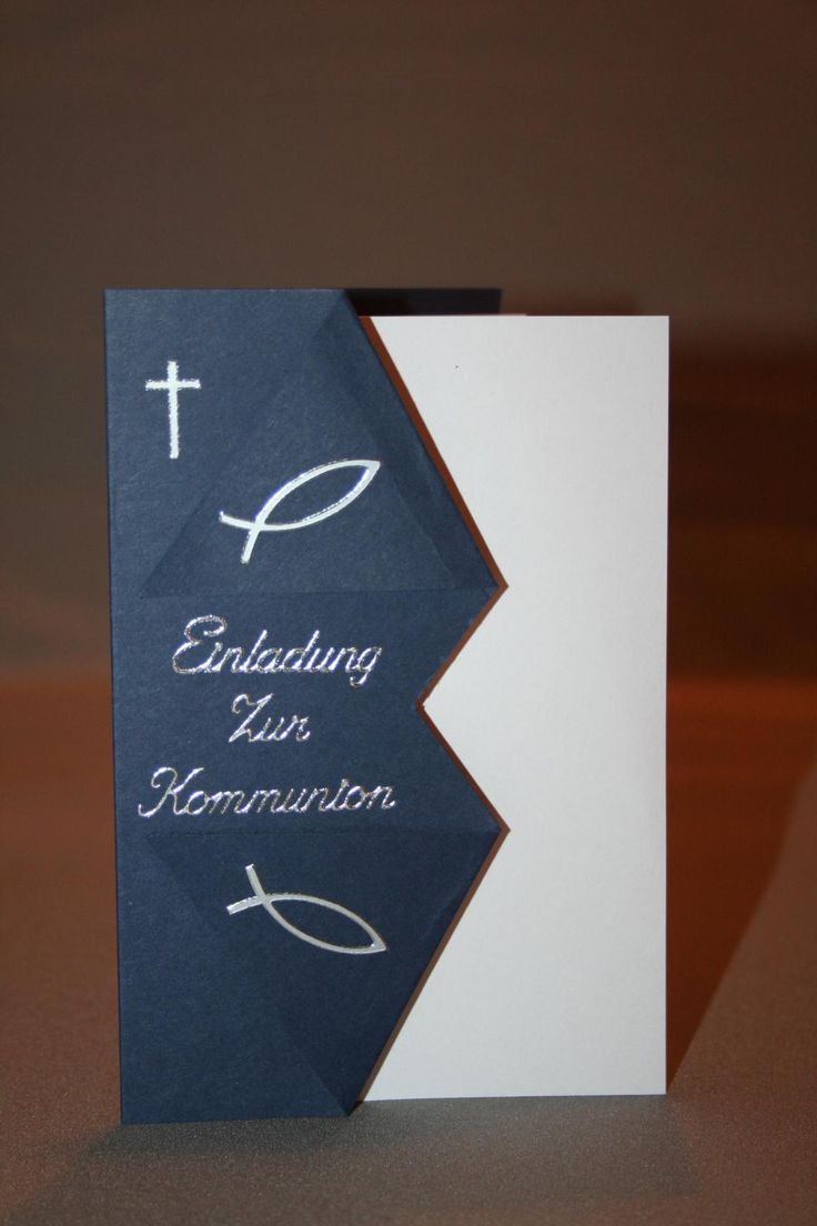 oltre 25 fantastiche idee su einladungskarten kommunion selber, Einladungsentwurf