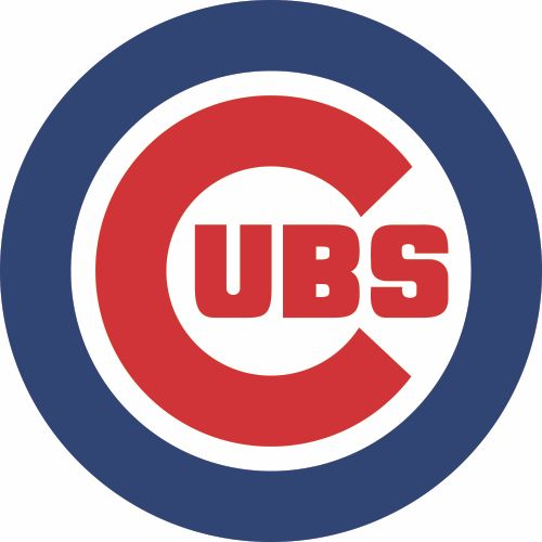 Chicago Cubs Primary Logo  Iron On Sticker (Heat Transfer)