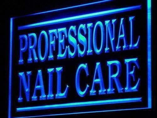 Professional Nail Care Neon Sign (LED) #professionalnails   – Nageldesign Schlicht
