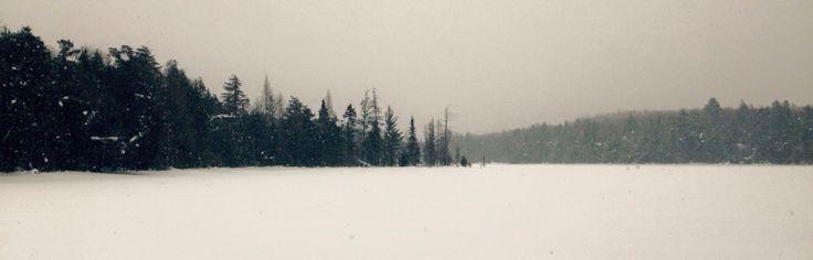 Beautiful Algonquin #winter