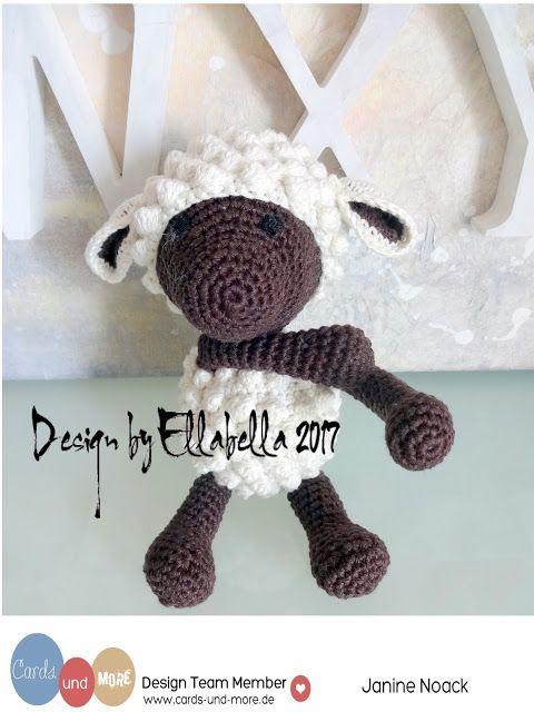crochet, häkeln, schaf, sheep, cardsundmoreshopblog, cardsundmore, cards und more