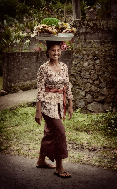 Bali | One of the things I have my writing students do in Bali is compile a list of all the amazing things they see people carrying on their heads. Talk about vivid and original detail! Http://www.lauradavis.net/cometobali