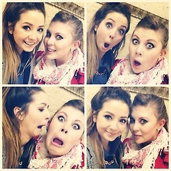 Zoe and Louise