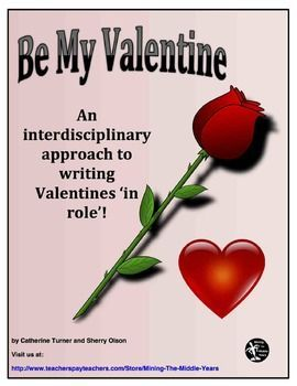 Valentine's Day Writing - This Valentine's Day Writing activity engages students to think creatively and critically about the content they are studying.  Students write Valentine poetry 'in role' to showcase their knowledge of concepts studied in any discipline (e.g.