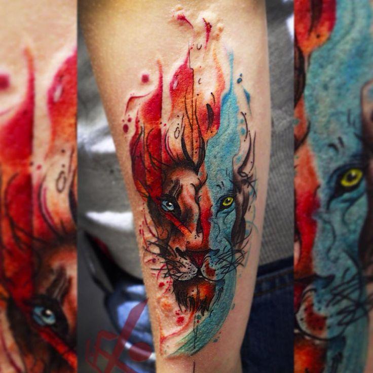 Огненный лев #фиштату #тату #татуза #татуировка #лев #левтату #татувмоскве #цветнаятату #татунаруке #мосвка #огонь #fishtattoo #tattoo #tattooed #tattooart #tattooink #ink #colortattoo #lion #tattoolion #liontattoo #tattoowork #moscow #tattooinmoscow #tattooinrussia #musthavetattoo #ta2 #tattoos #tattoist