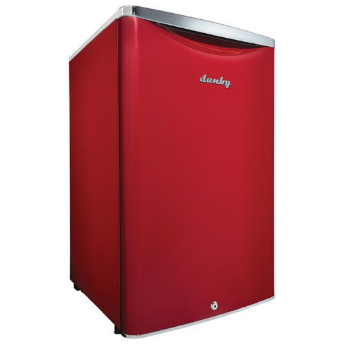 Danby Contemporary Classic 4.4 Cu. Ft. Freestanding Bar Fridge (DAR044A6LDB) - Red