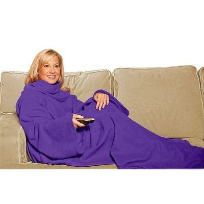 Kids got this for me as a gag gift for my birthday a couple years ago. Best gift ever!! I still love my purple snuggie today!
