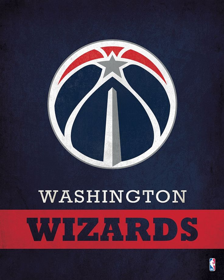 Washington Wizards Logo $24.99