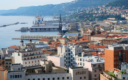 Trieste, Italy.   Always reminds me of Haifa.